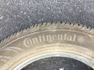 185-65-15 Continental Contiprocontact Summer Tires 2 Only!!!