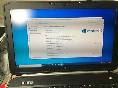 Dell Latitude E5520 Intel Core i5-2520M 2.50GHz 8GB 500GB HDD Laptop