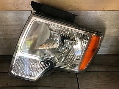 2010 2011 2012 2013 2014 FORD F150 FACTORY OEM DRIVER LEFT HEADLIGHT