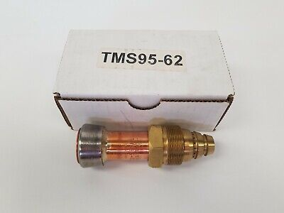 Flame Tech Tms95-62 Oxweld Style Tri-metal Scarfing Torch Tip Scorpion 9500 S