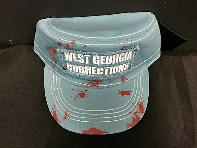 Used, BRAND NEW W/TAG *WALKING DEAD* HAT/CAP ONE SIZE FITS WEST GEORGIA CORRECTIONS M for sale  Shipping to Canada