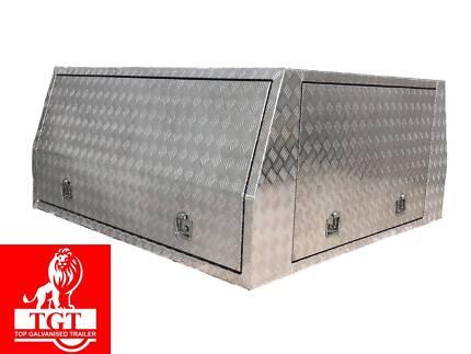 Aluminium canopy 1800 x1800x860; 1800x1760x860