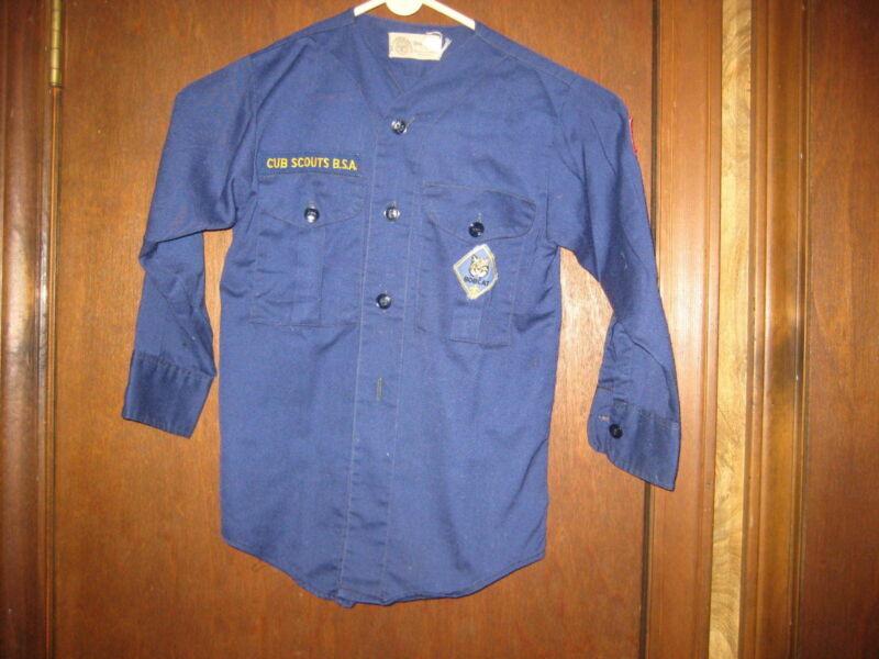 Cub Scout v-neck Long Sleeve Shirt       eb04 #4