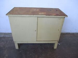 C34035 Small Vintage Rustic Cupboard Laundry Kitchen Mount Barker Mount Barker Area Preview