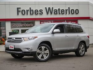 2012 Toyota Highlander 1 OWNER! 4WD LOADED/EXCEPTIONALITY CLEAN