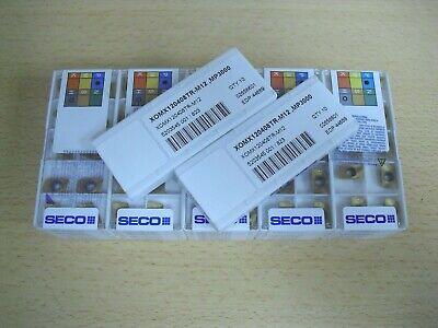 SECO XOMX 120408TR-M12 MP2500 10 PCS ORIGINAL CARBIDE INSERTS