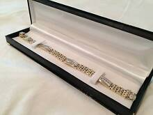 STUNNING 14K Solid Gold Diamond Bracelet - 54.4grams + 2.2ct Winston Hills Parramatta Area Preview