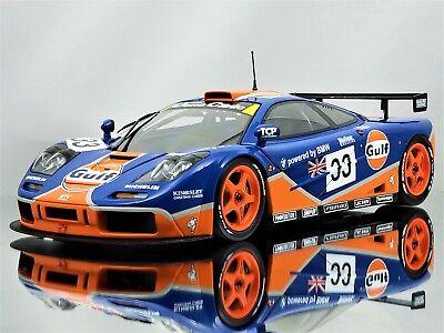 Minichamps McLaren F1 GTR 24h LeMans 1996 #33 Gulf Racing Diecast Model Car 1:18
