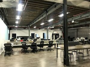 Shared Office Space, CoWorking Warehouse  (Queen St. West)