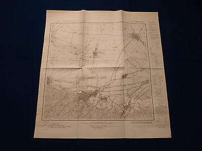Landkarte Meßtischblatt 4233 Ballenstedt, Hoym, Badeborn, Meisdorf, um 1945