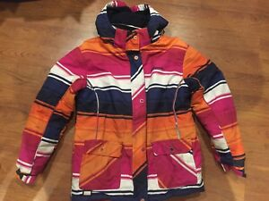 Girls winter jacket Size L (14-16)