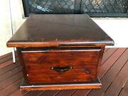 Wooden Chest Kingaroy South Burnett Area Preview