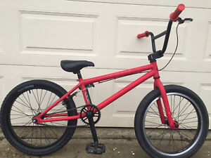 "Awesome Red BMX Bike, 20"" alloy wheels"