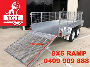 8x5 Ramp Tandem Trailer Heavy Duty, Fully Welded, Free 600mm Cage Boronia Knox Area Preview