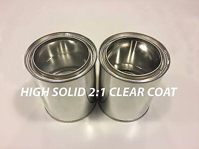 Pick Your Color 1 Quart Clear Coat 1 Quart Paint For