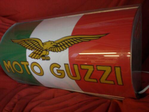 Moto Guzzi,racing,classic,garage,light up,sign,display,mancave,workshop,retro