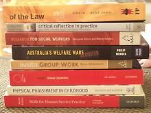 ASSORTED SOCIAL WORK TEXT BOOKS - $20 EACH Kensington Melbourne City Preview