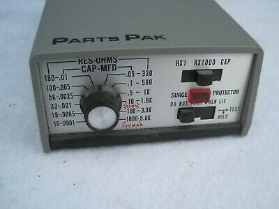 Sencore Rc-24 Resistor Capacitor Substitution Decade Box Rc24 Parts Pak Tester