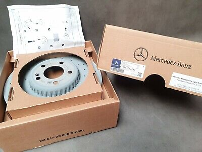 Original Mercedes-Benz Bremsscheiben Satz hinten C-Klasse 205 A0004230712 NEU
