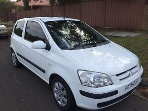 Bargin Hyundai Getz 2005  in immaculate condition 8 months rego Condell Park Bankstown Area Preview