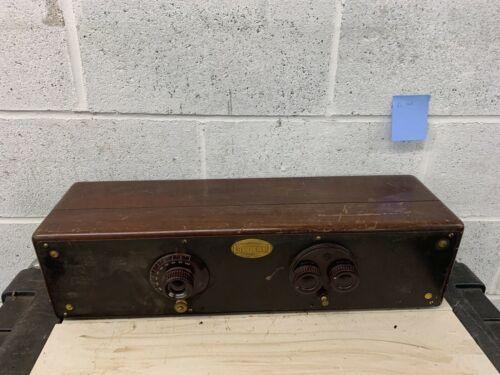 Antique Atwater Kent Model 32 Big Box Tube Radio Receiving Set Wood Box w/tubes