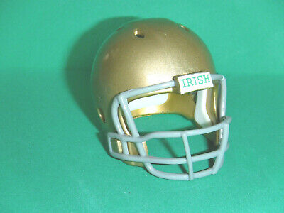 - NOTRE DAME Mini pocket pro football helmet.. Custome Made.