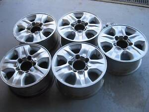 "Toyota Land Cruiser 100 Genuine Alloy Rims 17""x8"" IFS Crows Nest North Sydney Area Preview"
