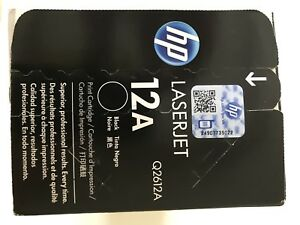 New HP 12A printer cartridge