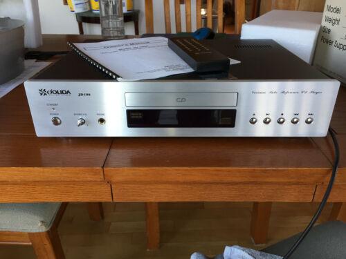Jolida JD100 Vacuum Tube Reference CD Player