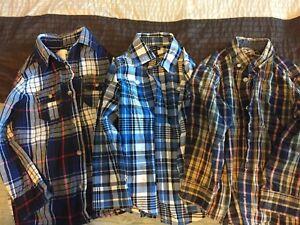Boys sz 5 shirts