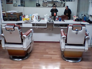 Barber setup hair dresser shop italia forsale frabks mens barber Beverley Charles Sturt Area Preview