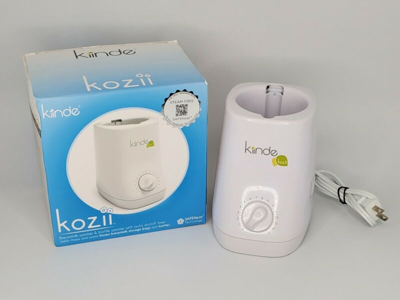 New Kiinde Kozii Bottle Warmer and Breast Milk Warmer Steam-Free