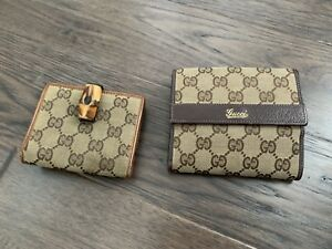 2 Gucci wallets for sale. Price is for each