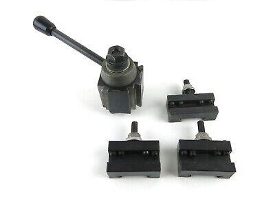 Quick Change Tool Post W Phase Ii Holders 250-101 250-201 250-202