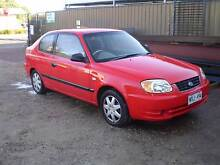 2003 HYUNDAI ACCENT - ** VERY LOW KILOMETERS ** Adelaide CBD Adelaide City Preview