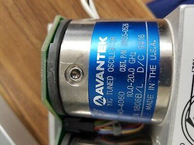 Advantek Yto Yig Tuned Oscillator 10-20 Ghz 0955-0526 Yo90-4060 83711ab 83731a
