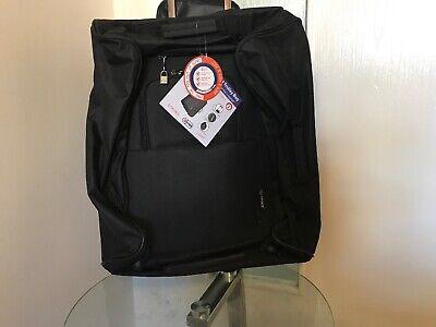 5CITIES Light Trolley Cabin Size Bag Suitcase Wheels 1.95kgs 56x45x25cm 60L