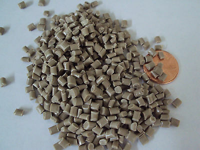 Pc-abs Virgin Plastic Pellets Brown Resin Material 10 Lbs Injection Molding