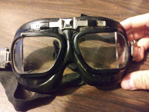 WW2 British RAF Halcyon Reproduction MK-VIII Flying Goggles - New