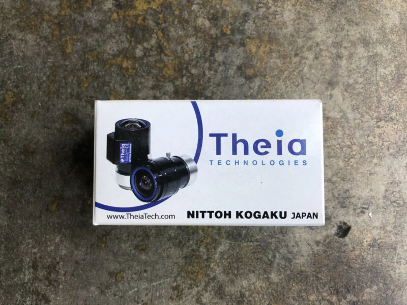 Theia Technologies CS-Mount 1.7 mm Fixed DC Auto Iris Lens SY110M