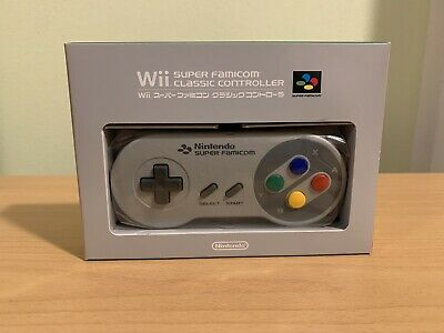 *SEALED* WII SNES (S.FAMICOM) CLASSIC CONTROLLER