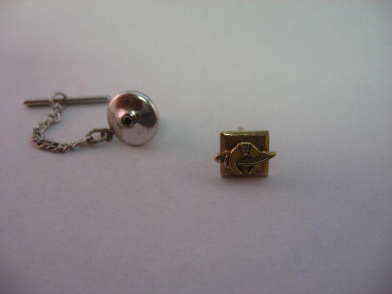 High Quality Mason Shriner Tie Tack Lapel Pin Jewelry 12KGF Gold Fill