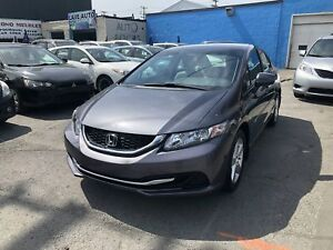 Honda Civic LX 2014  AUTOMATIQUE, AIR CLIMATISÉ, CRUISE CONTROL,
