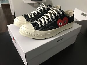 CDG Converse Size: 10