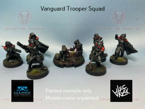 Star Wars Legion Vanguard Squad - Shore Trooper Proxy - 3d Printed custom