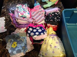 Lot of baby girl clothing
