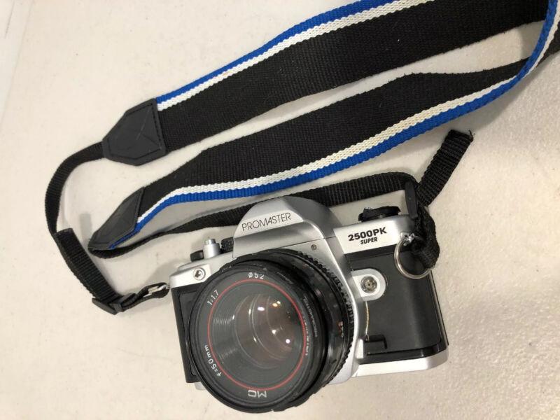Promaster 2500PK Super SLR Camera with 50mm 1.7 Lens