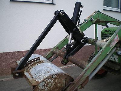 Hydraulische Gerätebetätigung Frontlader Schlepper Schnellwechselrahmen 1 Zyl.