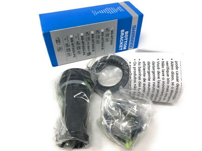 New Shimano XT Hollowtech II BB-MT800 Bottom Bracket BSA 68/73 mm Black