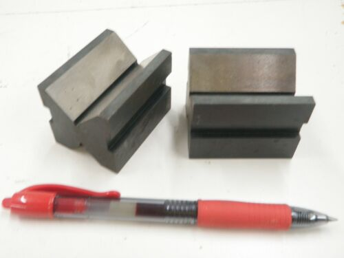 """1.5 x 1.5 x 2"""" General Hardware No 116 V-Blocks without Clamp"""